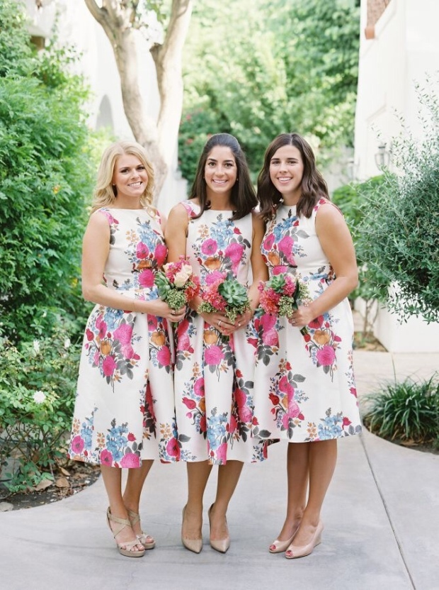 Spring Wedding Bridesmaid Style